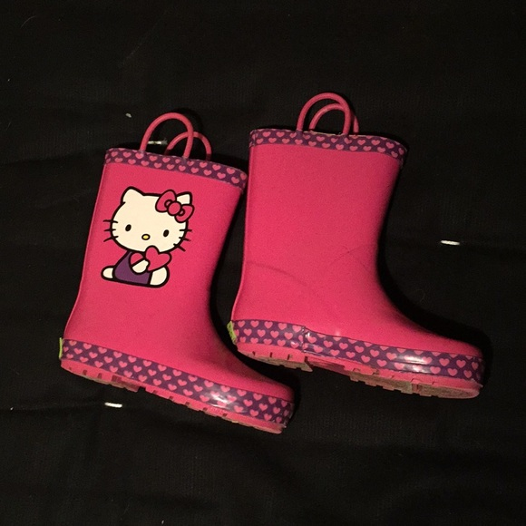 Western Chief Other - Girls Rain Boots Hello Kitty